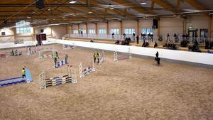 Härnösands Hästsports Arena där loppisen kommer hållas. Fotograf: Rebecka Lunneborg