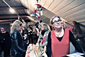 Helena Olsson är kvinnan bakom Nybo lofts nya hantverksbutik.