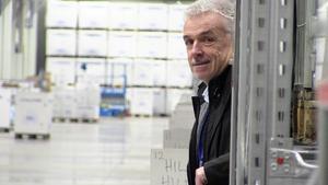 Drygt 12 000 kvadratmeter under tak omfattar den nya byggnaden i Åskorset. Nils-Åke Hallström har ritat rubbet.