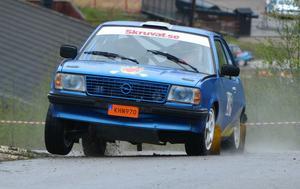 Benjamin From från Järbo knep en seger samt en tredjeplats i Up the Hill-Race.