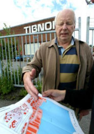 Hela området längs Norra Kajen i Sundsvall ska förändras. TIbnors besked om neddragningar underlättar planerna, berättar Mats Westling, kommunens fastighetsstrateg.
