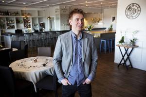 Krögaren Jonatan Norberg i samband med öppnandet av Matbaren i april för två år sedan.