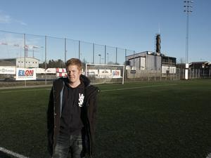 Bilden är tagen i Norrtälje, men Jesper Karlssons hemmaplan är Edsbro.