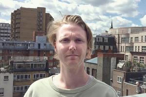 Erik Uvhagen bor i London sedan flera år där han arbetar inom reklam.