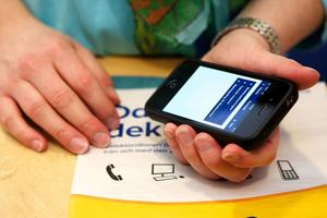 Borlänge kommuns invånare är bäst i länet på att e-deklarera.