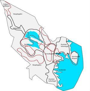 Stora delar av Hudiksvalls kommun undantas från exploatering för vindkraft.