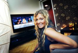 2009 deltog Clara i Idol.