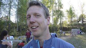 Henrik Josefsson, tävlingsledare på Tough Race Sweden i Borlänge.