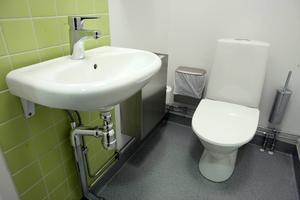 Toaletten på bilden har inget med händelsen att göra.