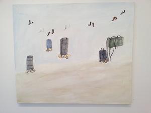 Hans Lannér är tillbaka på Galleri Remi och inleder galleriets höstsäsong.
