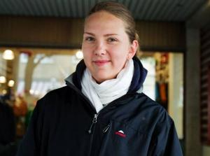 Maria Olsson, 22 år, kafébiträde, Östersund.– Ja, en dag, om jag inte jobbar. Det brukar vara bra stämning och bra musik.