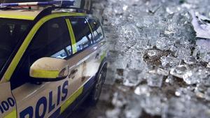 Okända personer kastade stenar på hus – polisen utreder brott om skadegörelse