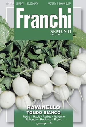 Snövita. Italienska Franchi har tagit fram vita rädisor.