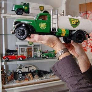 Montern med fordon från bensinjätten BP är mäktig.
