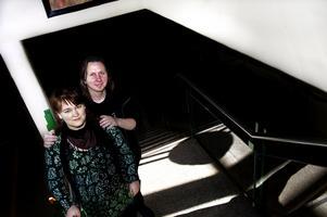 Anna Jobs Bender och Mats Bender presenterar på lördag projektet Introitus för allmänheten, efter . Foto:Johan Solum