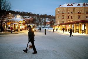 Det är pinsamt att en vänthall får lukta så illa och en skam för Sundsvall. Foto: Håkan Humla/Arkiv