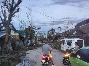 En gata på Bantayan.