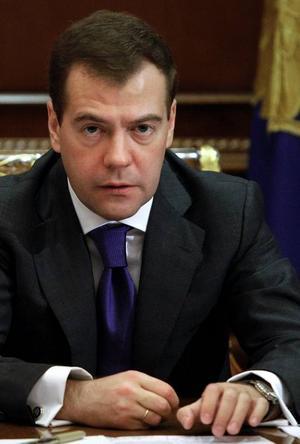 Dmitrij Medvedev gav helt väntade svar.