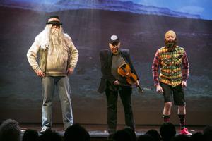Svarte Sören, Kalle Moraeus och Alexander Bard - tre kändisar som figurerat i tv under året. Somliga mer än andra.