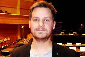 Direktionsordföranden Anton Waara (S) är nöjd med gymnasieförbundets plussiffror.
