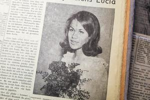Irene Hagberg i Remmen, Älvros blev årets lucia 1966. Glädjen blev stor på gården Brännan när tidningens representanter kom med beskedet. Enda problemet var att gården låg lite avsides och det var svårt att hitta dit i mörkret.