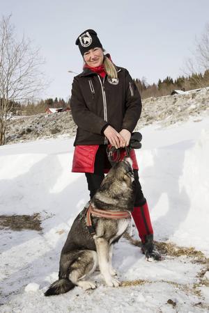 Jeanette Åslund i Åre Ridklubb.