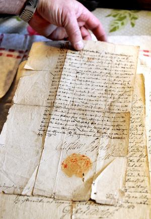Kungens brev från 1613.