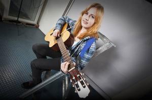 Sofia Sjöstrand gör sin första spelning efter Musik Direkt.