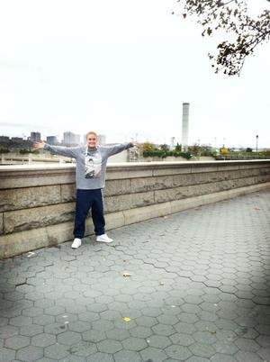 Jenny Persson från Hudiksvall bor just nu på Manhattan.