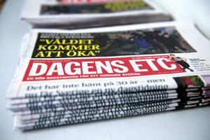 Dagens ETC började ges ut som dagstidning 2014.