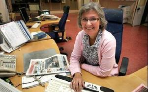 Kerstin Eriksson lämnar nu jobbet som DD:s lokalredaktör i Avesta, för en tjänst på DD:s redaktion i Borlänge. Hon ersätts av...FOTO: BERIT DJUSE