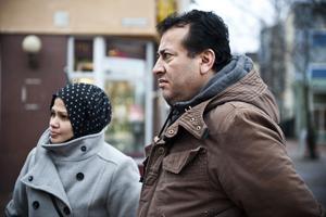Hanaa Abdelrhman, Mahmud Mheidey och deras barn kämpar mot Migrationsverkets beslut om att de ska lämna Kramfors.