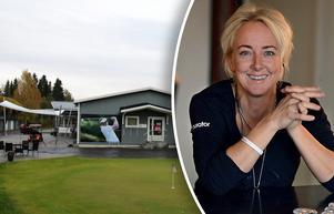 Kerstin Wretman berättar om kaoset på Timrå golfbana.