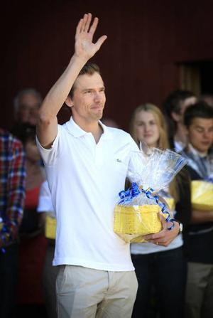 Johan Olssons VM-guld på femmilen var förstås den stora anledningen till att en enig jury ansåg att han var den största vintersportprofilen i Östersund den gångna säsongen.Arkivbild: Denny Calvo