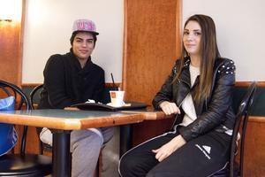 Mohammed Kamal och Johanna Törnqvist har varit stamgäster på McDonalds.