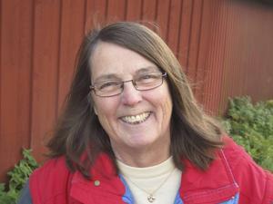 Författaren Elvira Birgitta Holm aktuell med romanen Falkens döttrar.