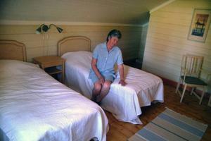 Det nya lantgårdspensionatet har fyra sovrum med vardera två bäddar.