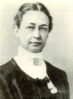 Ett porträtt av Hilma af Klint.