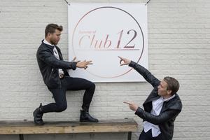 Club 12 startades 2011 av  Erik Zetterman (t.v.) och  Simon McMullen (t.h.). Foto: Stig-göran Nilsson