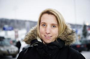 Sofia Svedberg, Kroksta– Nej, koncentrationen blir mycket sämre. Jag stannar alltid om jag ska svara eller ringa.