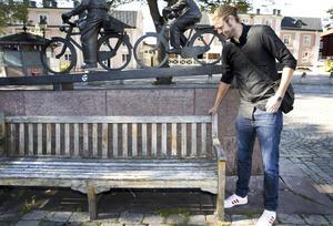 En upprustning ska få fler västeråsare att dras till Stora torget hoppas Anders Nordberg som är projektledare för kommunens satsning att bygga om torget.