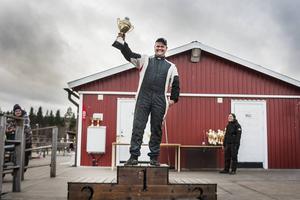 Jocke Halvarsson, Ljusdal, vann Kåtmyraslaget 2014.