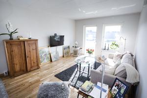 Ulla vill ha ett flexibelt vardagsrum med plats för många gäster.