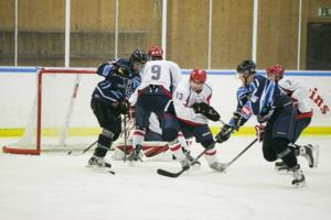 FK Nyland hade det jobbigt mot AIK Hockey när laget föll med hela 3-9.