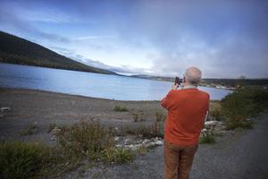 Sture Bergwall fotar till sitt Instagramkonto. Naturbilder är favoritmotivet.