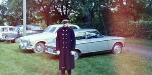 Parkeringsvakten Jan Larsén.