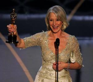 Helen Mirren blev Oscarsgalans drottning, efter att ha spelat en drottning.