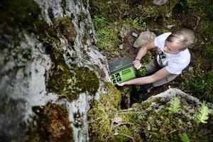 Geocaching är stort i Sundsvall.