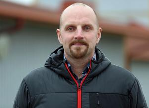 Mattias Wiberg, flygplatschef Härjedalen Sveg Airport.