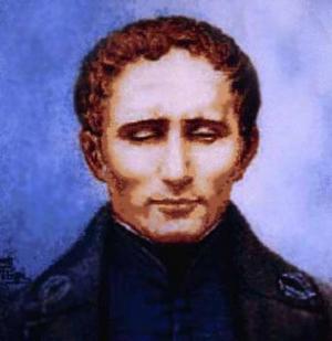 LOUIS BRAILLE. Punktskriftens upphovsman föddes för precis 200 år sedan. Han dog vid 43 års ålder, långt innan hans system blev världsberömt.Foto: Irisgruppen